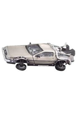 Back to the Future II Diecast Model 1/43 DMC DeLorean Flight Version