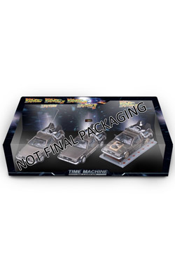 Back to the Future I-III Diecast Model 3-Pack 1/43 DMC DeLorean
