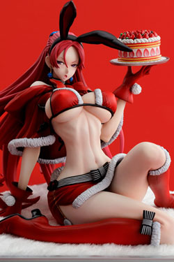 Valkyria Chronicles Duel PVC Statue 1/7 Juliana Everhart -X'mas Party- 13 cm