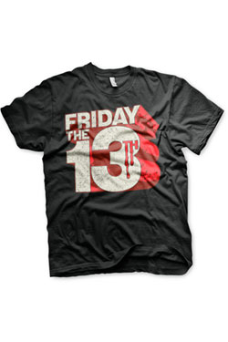 Friday the 13th T-Shirt Block Logo Size XL