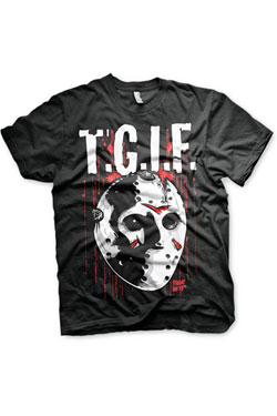 Friday the 13th T-Shirt T.G.I.F. Size L