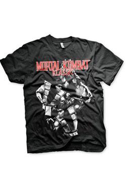 Mortal Kombat T-Shirt Klassik Fighters Size M