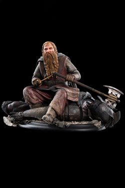Lord of the Rings Statue Gimli The Dwarf On Uruk-Hai 43 11 cm