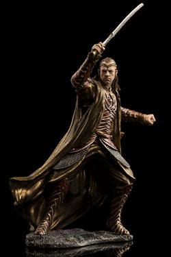 The Hobbit The Battle of the Five Armies Dol Guldur Mini Statue 1/30 Lord Elrond of Rivendel 7 cm