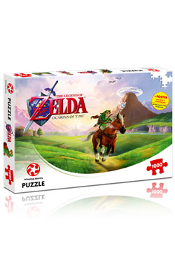 Legend of Zelda Jigsaw Puzzle Ocarina of Time