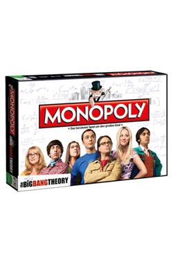 The Big Bang Theory Board Game Monopoly *German Version*