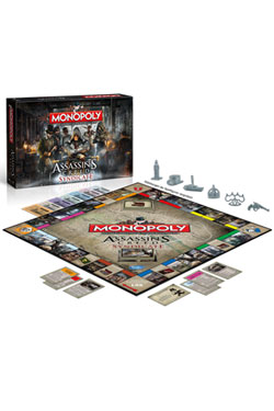 Assassin´s Creed Syndicate Board Game Monopoly *German Version*