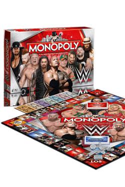 WWE Wrestling Board Game Monopoly *German Version*