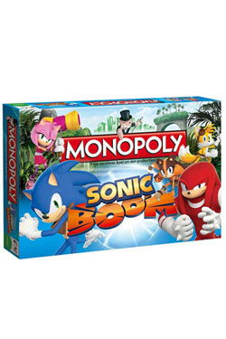 Sonic Boom Board Game Monopoly *German Version*