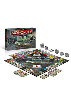 Cthulhu Board Game Monopoly *German Version*
