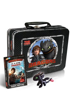 DreamWorks Dragons Top Trumps Card Game with Kids Box - German Version