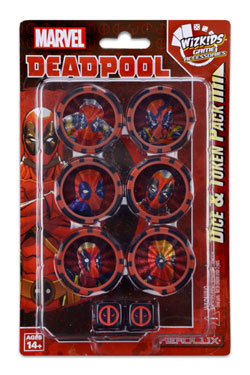 Marvel HeroClix Deadpool & X-Force Dice & Token Pack Deadpool