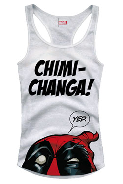 Deadpool Girlie Tank Top Chimi Changa Size M