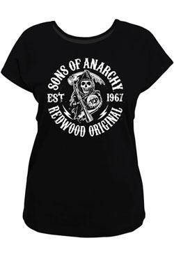 Sons of Anarchy Ladies T-Shirt Redwood Original Size M