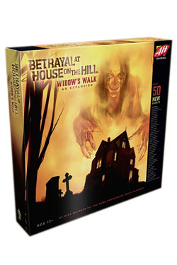 Avalon Hill Board Game Expansion Betrayal at House on the Hill Widow's Walk english