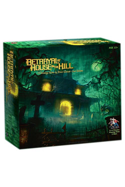 Avalon Hill Board Game Betrayal at House on the Hill 2nd Edition english