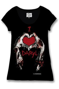 Walking Dead Ladies T-Shirt I Love Daryl Size L