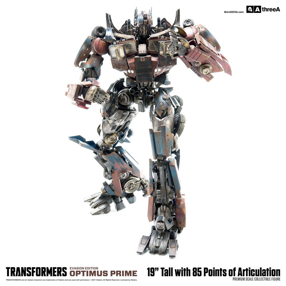 Transformers Age of Extinction Action Figure 1/6 Optimus Prime Evasion Edition 49 cm
