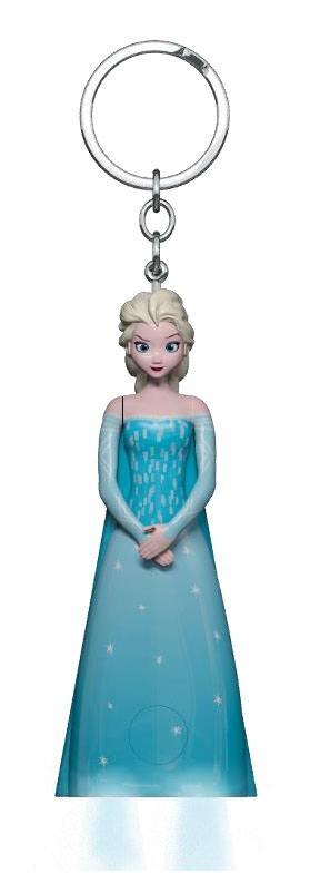 Frozen Keychain LED Torch Elsa