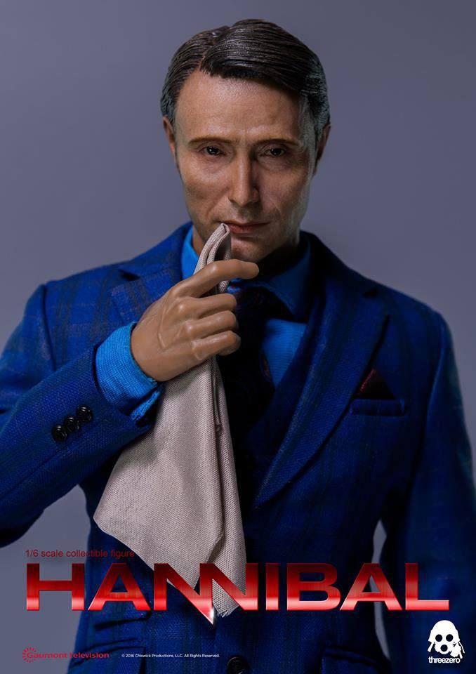 Hannibal Action Figure 1/6 Dr. Hannibal Lecter 30 cm