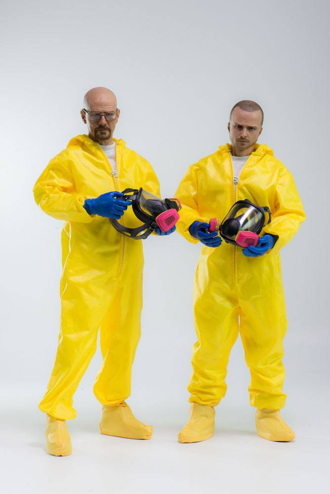 Breaking Bad Action Figure 2-Pack  1/6 Heisenberg & Jesse Pinkman Hazmat Suit 30 cm