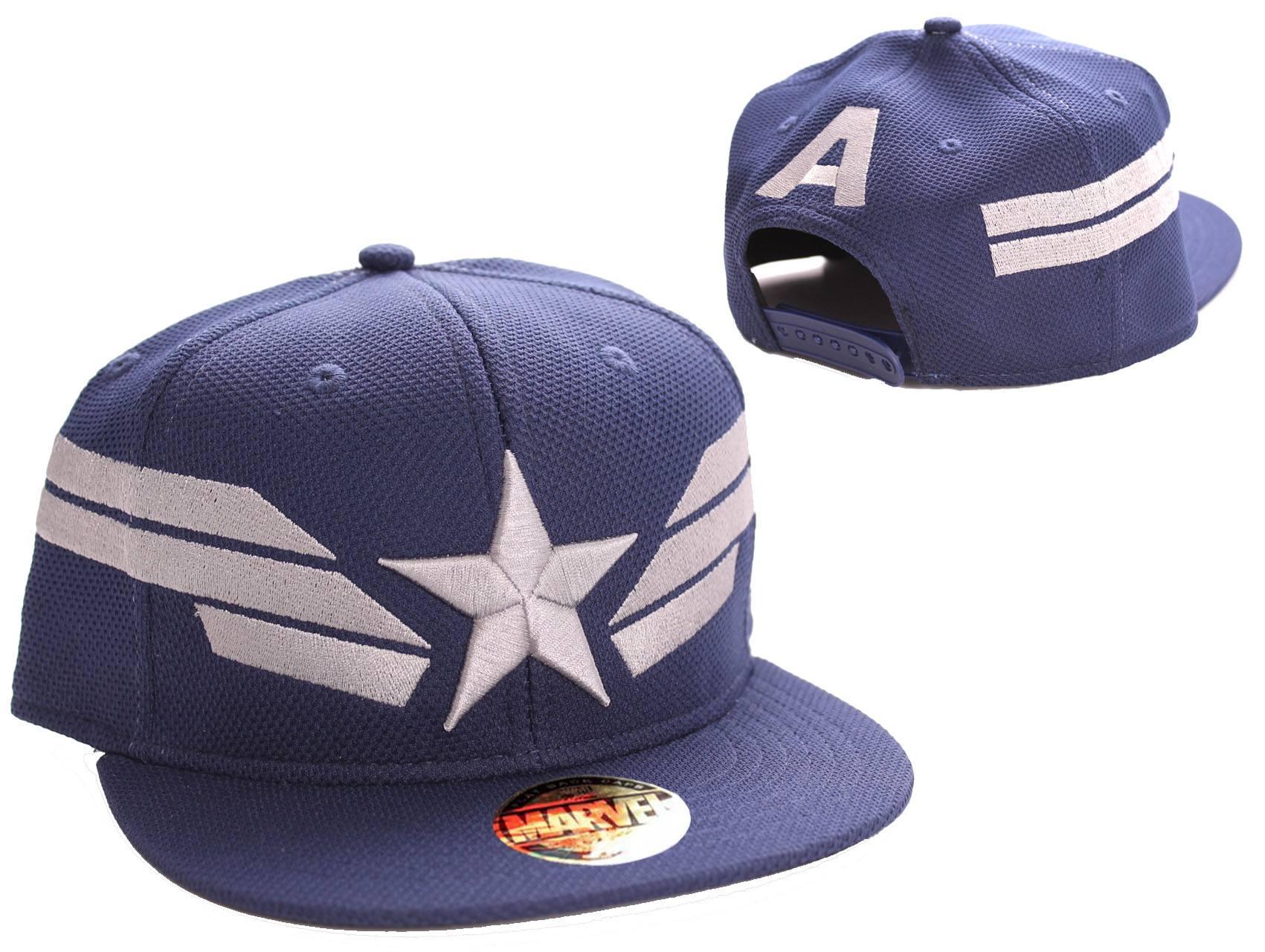 Captain America Adjustable Cap Star Wings