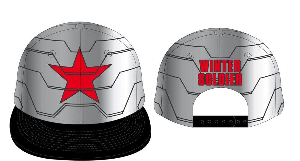 Captain America Civil War Adjustable Cap Winter Soldier