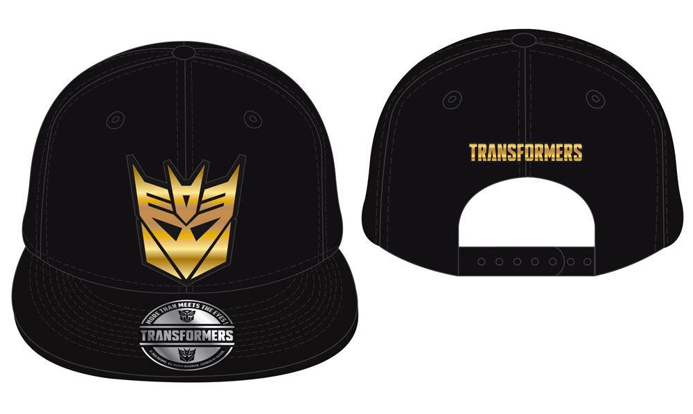 Transformers Adjustable Cap Deception Metal