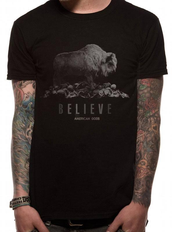 American Gods T-Shirt Buffalo Size XXL
