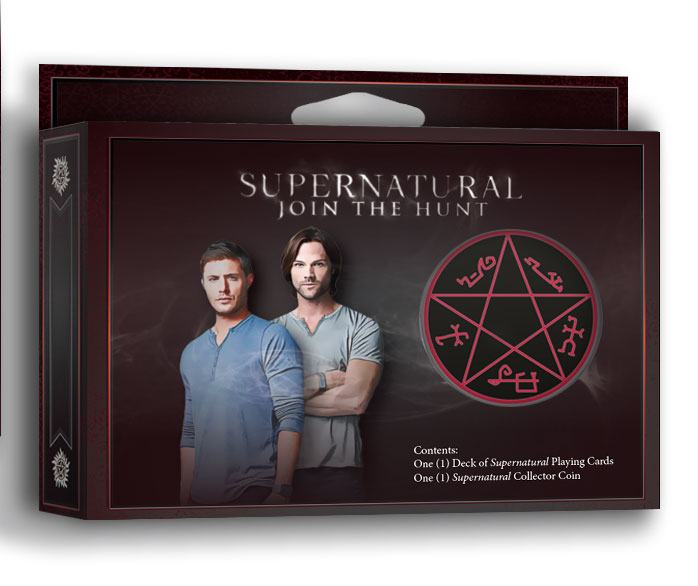 Supernatural Playing Cards with Collector Coin