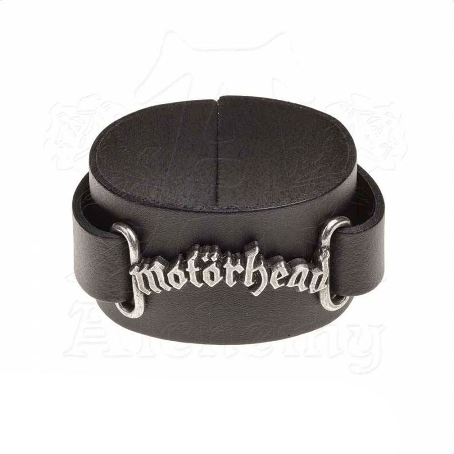 Motörhead Leather Wriststrap Logo