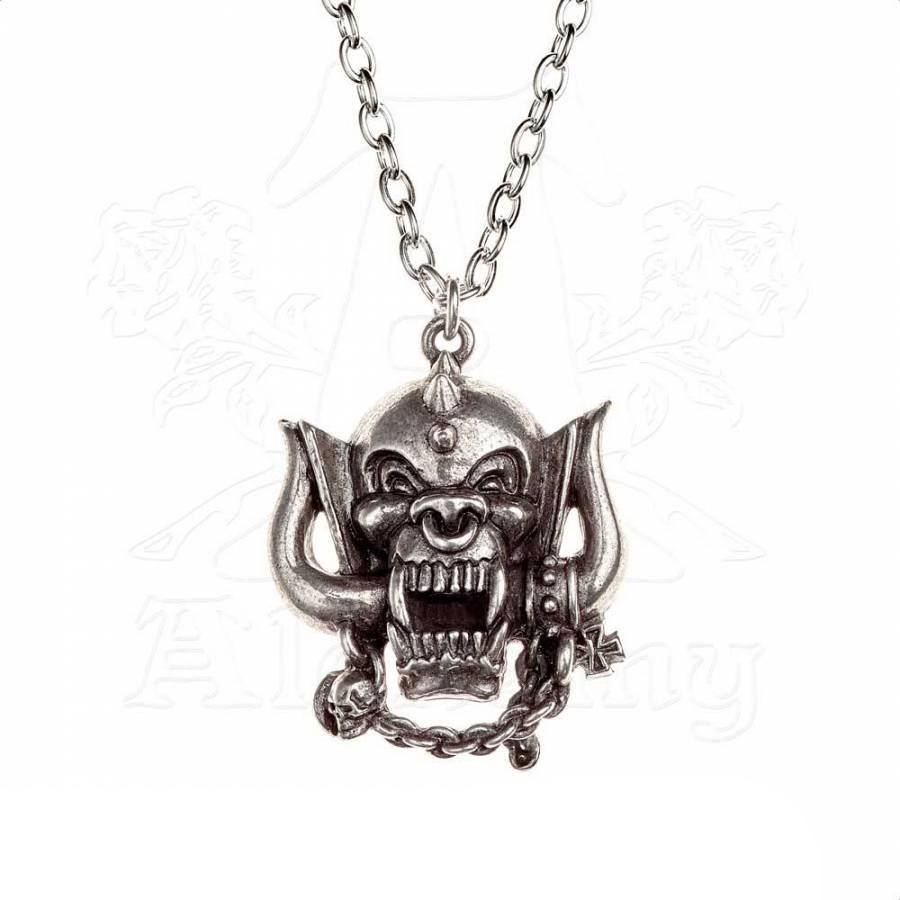 Motörhead Pendant with Chain War Pig