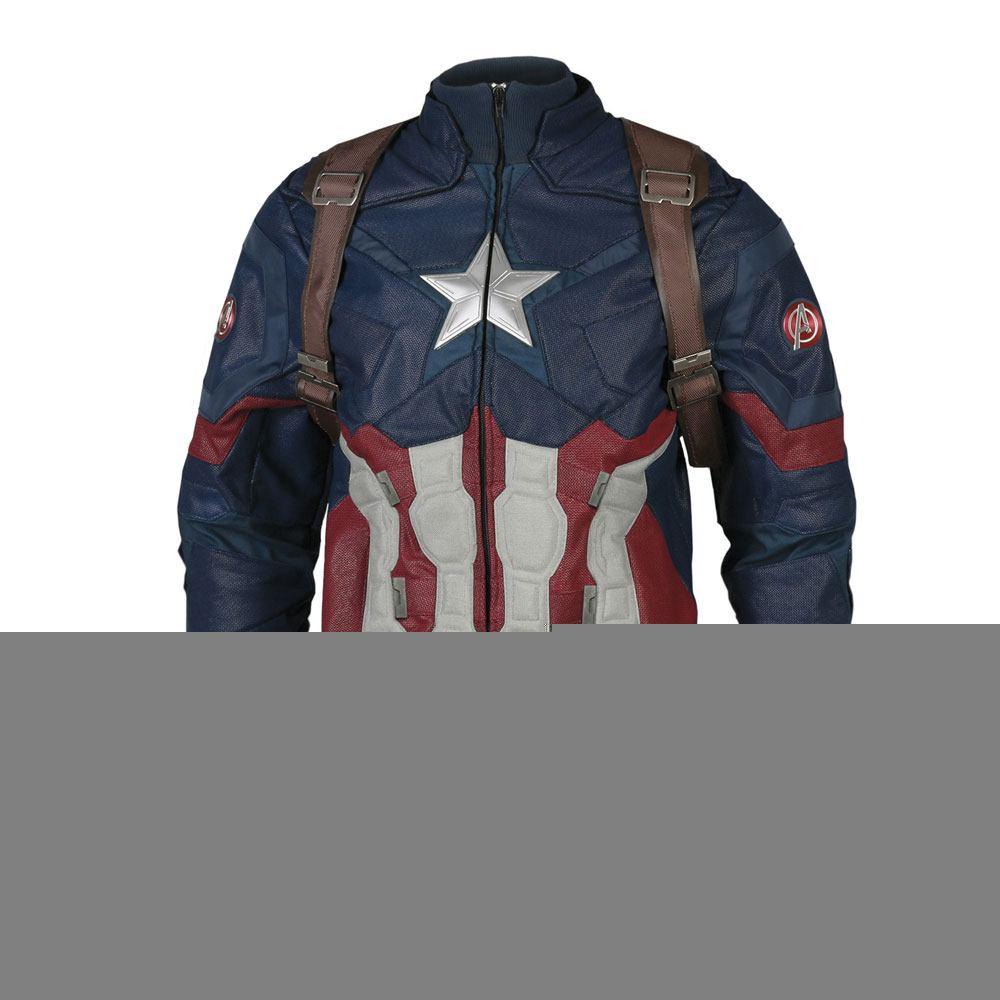 Captain America Civil War Replica Captain America Jacket Size XXL