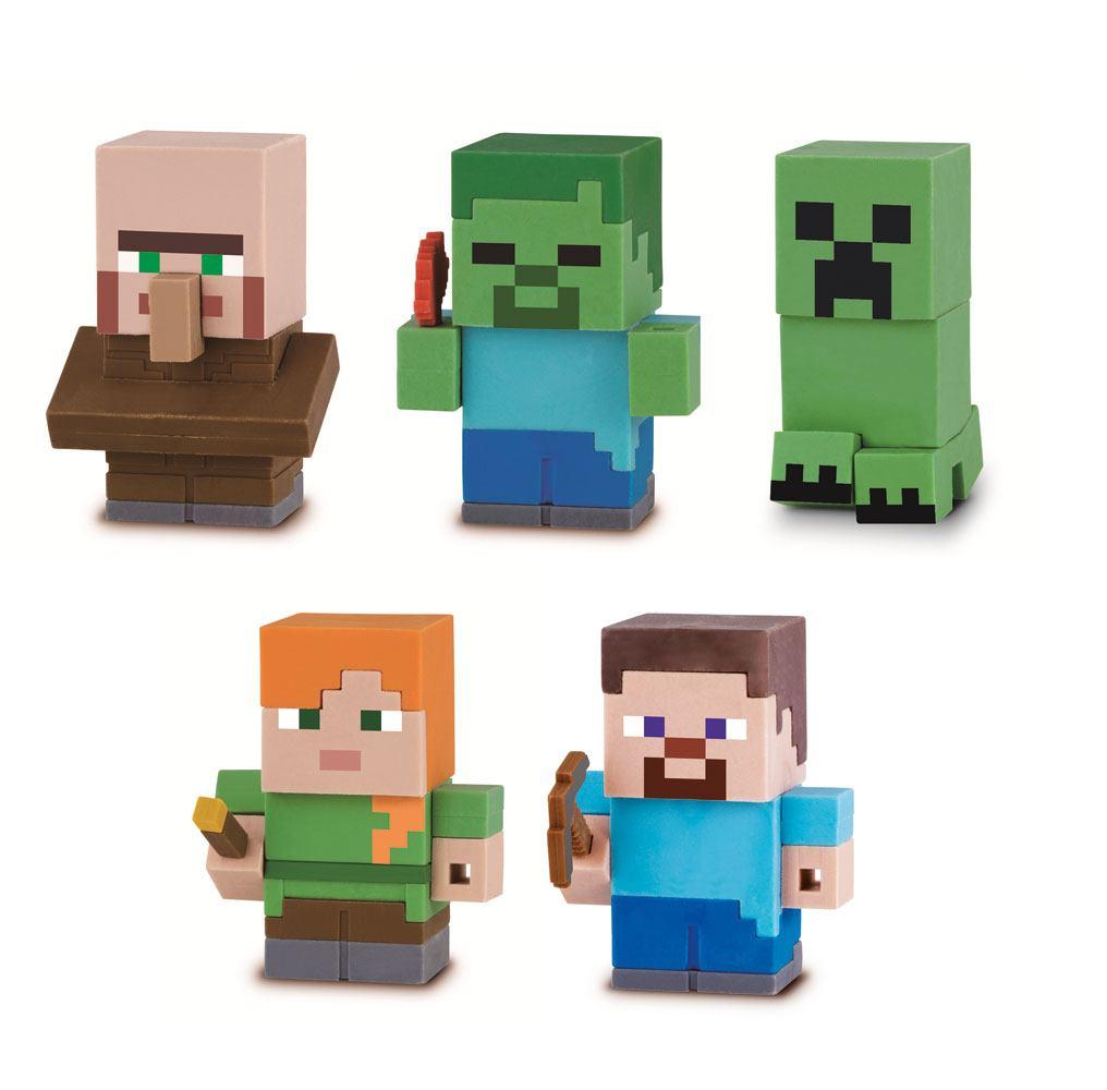 Minecraft Mine-Keshi Figures 4 cm Character Box Assortment (15)