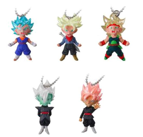 Dragonball Super UDM Gashapon The Best Mascot Charm Collection 4 cm Display (18)