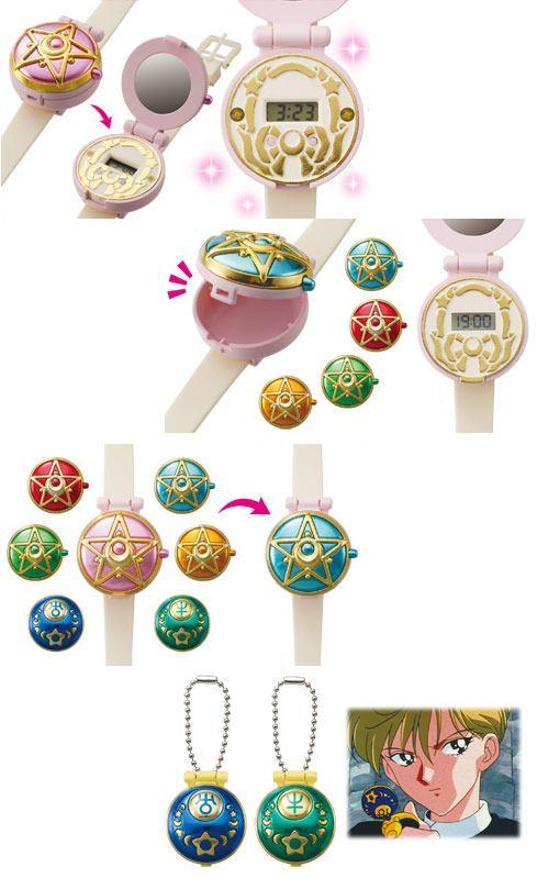 Sailor Moon LCD Digital Communicator Watch