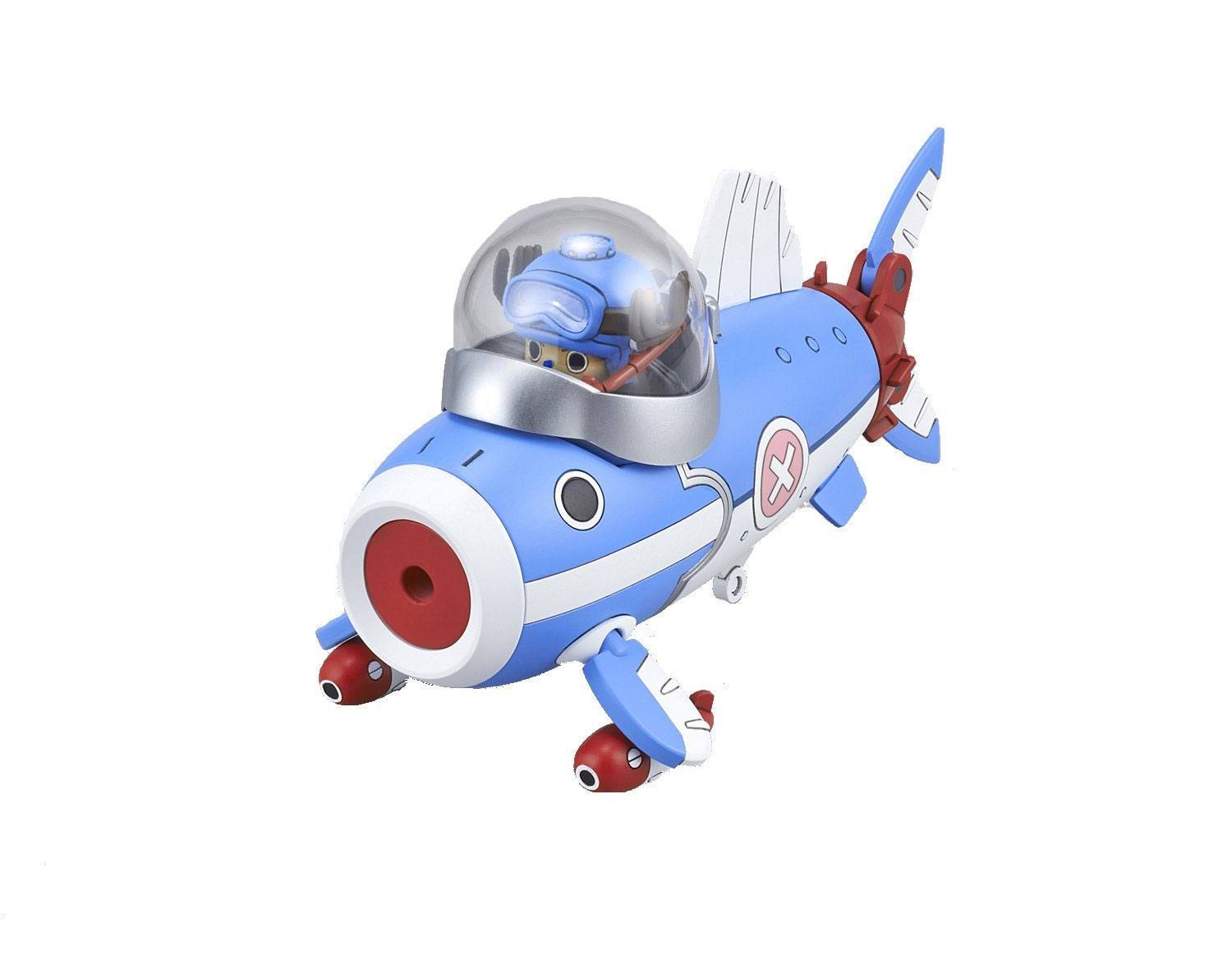 One Piece Chopper Robo Series Plastic Model Kit Chopper Submarine 10 cm
