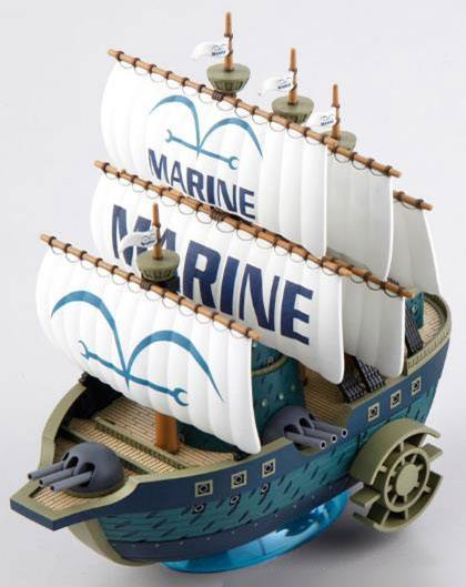 One Piece Grand Ship Collection Plastic Model Kit Marine Ship 15 cm
