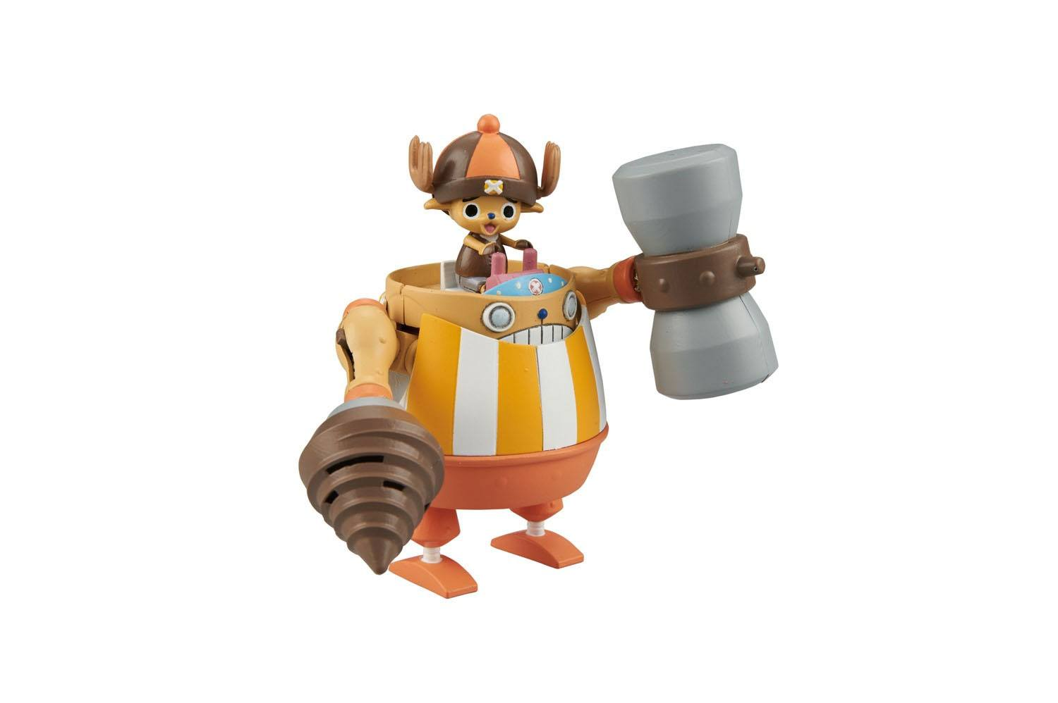 One Piece Chopper Robo Super Series Plastic Model Kit Kung Fu Tracer 10 cm