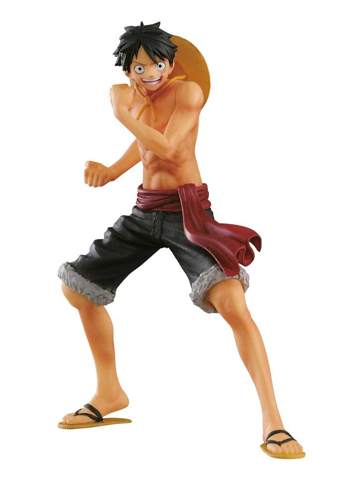 One Piece Body Calender Vol. 5 Figure Monkey D. Luffy Special Color Version 16 cm