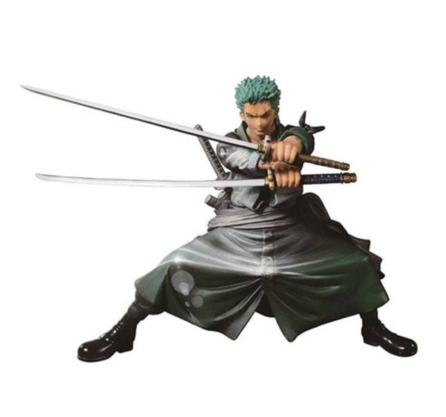 One Piece SCultures Figure Big Zoukeio Roronoa Zoro Shining Color Ver. 13 cm