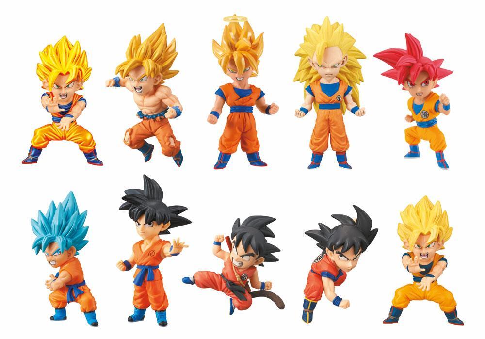 Dragonball Super WCF ChiBi Figures 7 cm Assortment Goku Special (15)