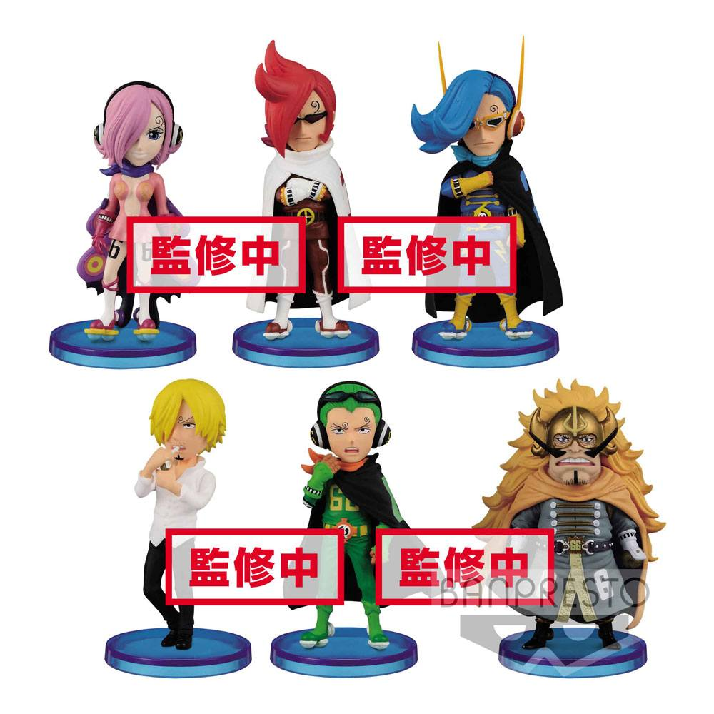 One Piece WCF ChiBi Figures 7 cm Assortment Vinsmoke Family (25)