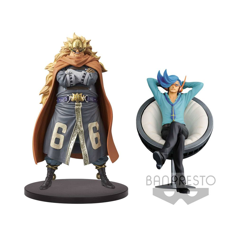 One Piece DXF Grandline Vinsmoke Family Vol. 5 Figures 17 cm Assortment Judge & Niji (2)