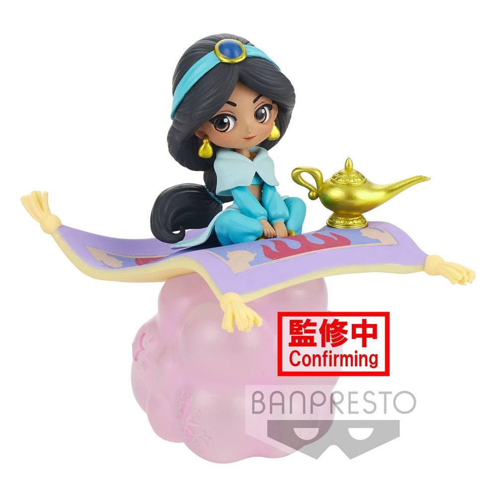 Disney Q Posket Stories Mini Figure Jasmine Ver. B 10 cm
