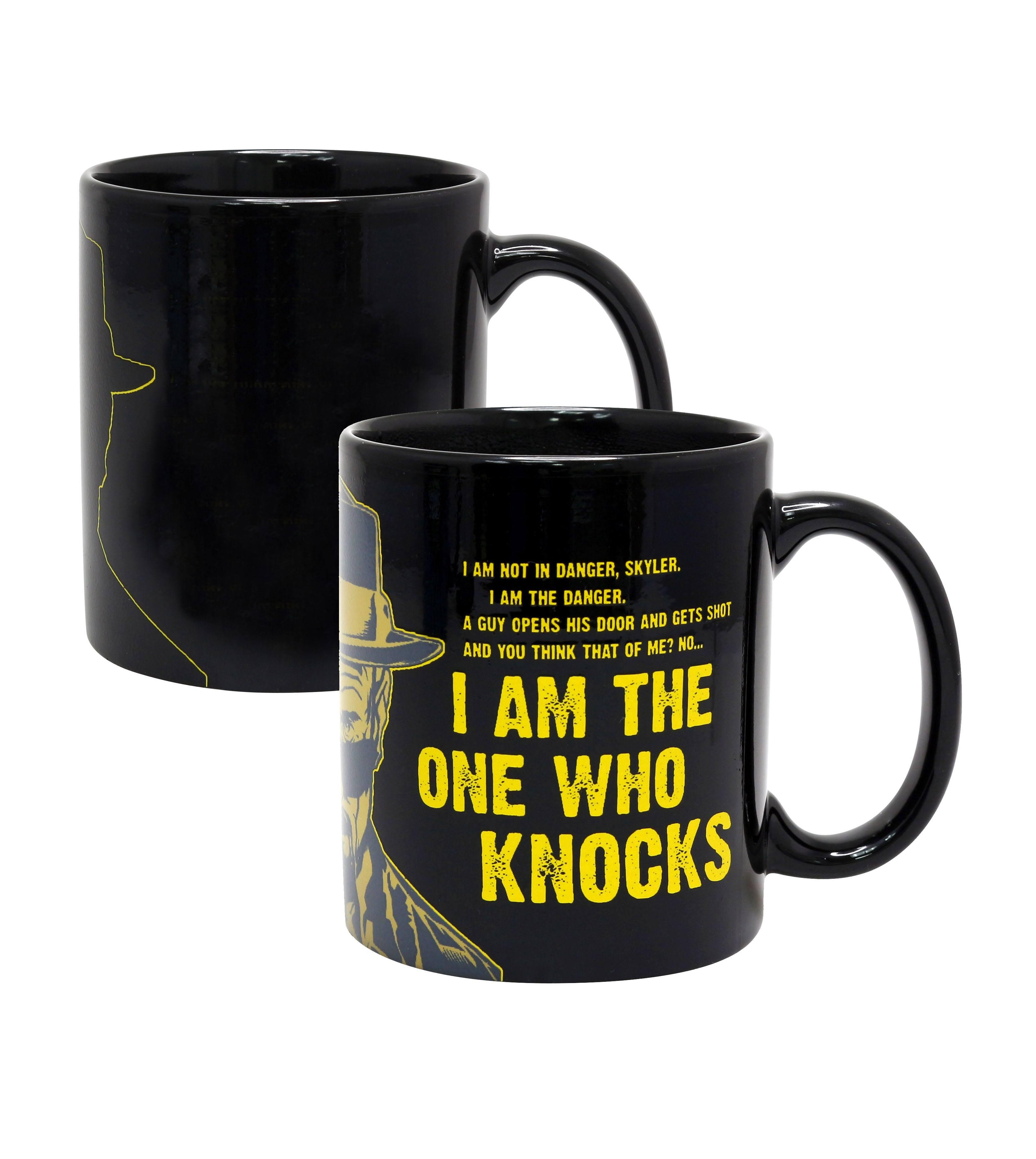 Breaking Bad Heat Change Mug I Am The One Who Knocks