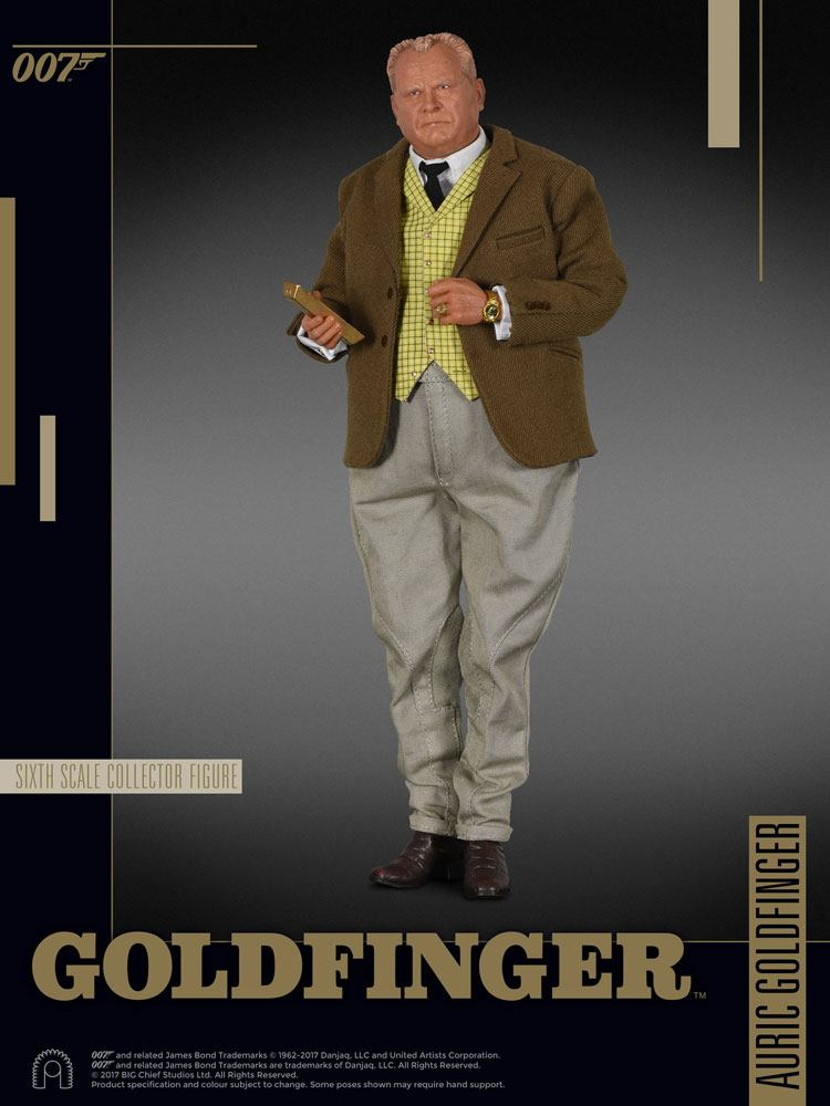 James Bond Goldfinger Collector Figure Series Action Figure 1/6 Auric Goldfinger 30 cm