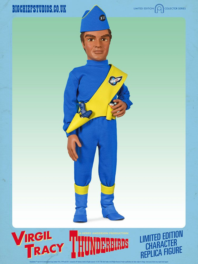 Thunderbirds Collector Figure Series Action Figure 1/6 Virgil Tracy International Rescue 33 cm