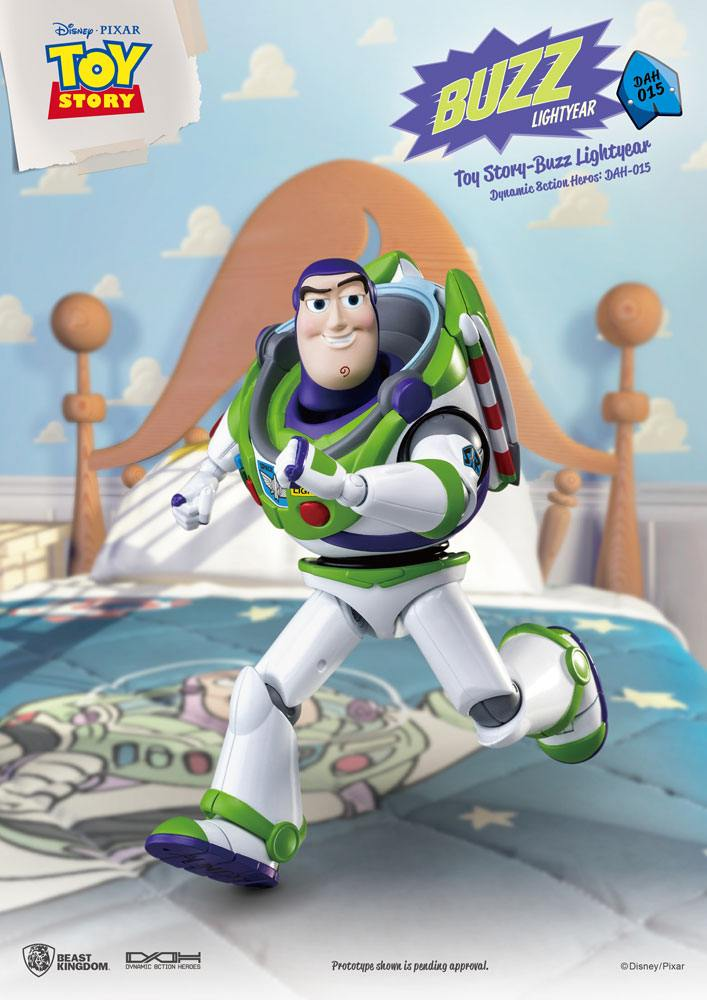 Buzz Lightyear Toy Story Dynamic Action Heroes Action Figure by Beast Kingdom Toys