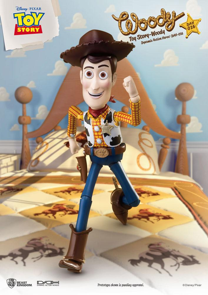 Woody Toy Story Dynamic Action Heroes Action Figure by Beast Kingdom Toys
